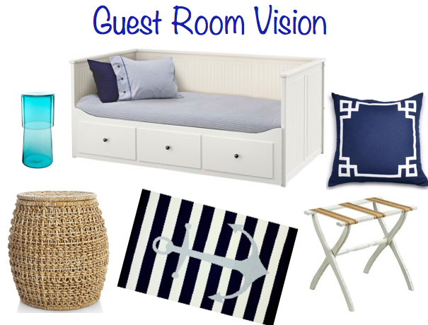 Guest Room Vision Board